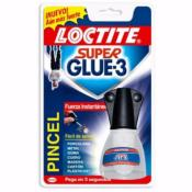 Pegamento Super glue-3  Pincel 5 grs.